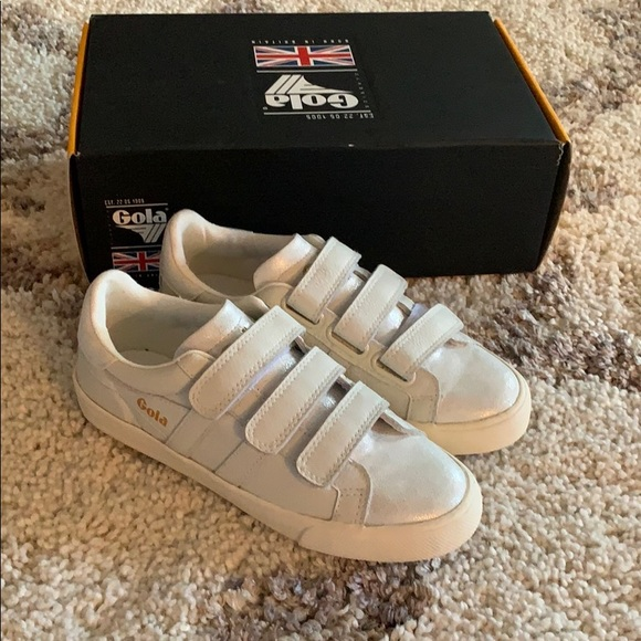 3f933508af8 Gola Shoes | Orchid Velcro Sneakers | Poshmark